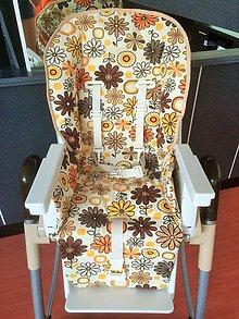 Textil - Podložka do jedálenskej stoličky - 7155634_