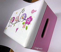 Krabičky - truhlička  dievčenska - 7153488_