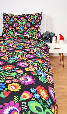 Úžitkový textil - Dizajnové posteľné obliečky Takoy folk poťah 107 - 7153796_