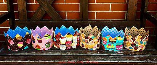 Hračky - Korunky Cupcakes - 7154759_