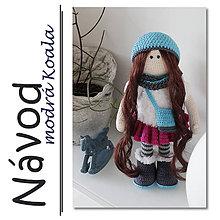 Návody a literatúra - Háčkovaná bábika Rozárka - návod - 7155631_