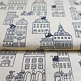 Textil - mesto, 100 % bavlna, šírka 140 cm, cena za 0,5 m - 7155615_