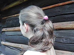 Ozdoby do vlasov - Sada gumičiek do vlasov - 7155038_