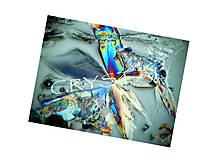 Textil - Panel dizajnový Crystal Aspirin 4 (20x30cm) - 7155817_