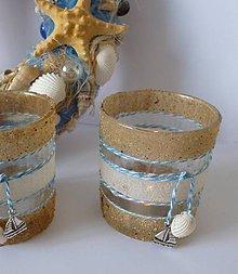 Svietidlá a sviečky - svietnik na čajovú sviečku - 7154917_