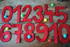 Hračky - Montessori čísla - 7153410_