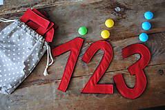 Hračky - Montessori čísla - 7153411_