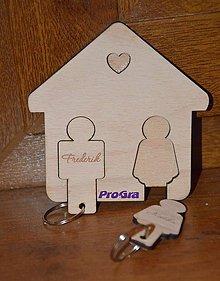 Kľúčenky - Domček na kľúče - 7154691_