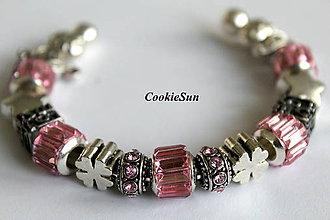 Náramky - Náramok Pandora Light Rose - 7156055_