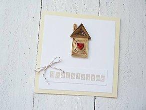 Papiernictvo - blahoželanie k novému bývaniu - 7154382_