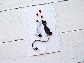 Papiernictvo - svadobná pohľadnica - 7154465_