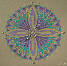 Obrazy - Mandala Jemnosti - 7158481_