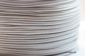 Galantéria - sutaška platinová P007 - 7159654_