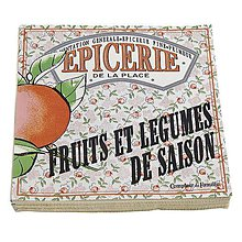 Papier - Comptoir de Famille -  pomaranč - 7157188_
