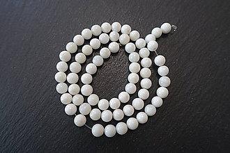 Korálky - Slonová kosť 6mm - 7158140_