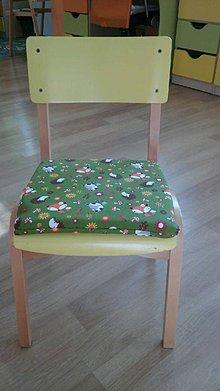 Textil - Sedáčiky do škôlky - robíme na objednávku - 7157821_