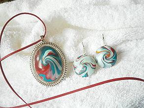 Sady šperkov - Polymérový set, zvírený - 7158388_