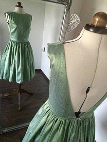 Šaty - Riasené pepermitky - 7161809_