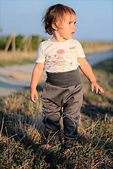 "Detské oblečenie - Softshellky ""grey"" - 7162814_"