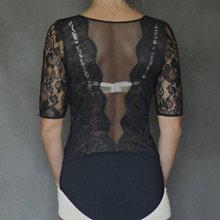 Topy - Body Dyona z krajky s rukávom rôzne farby - 7161822_
