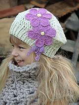 Detské čiapky - Baretka - 7162691_