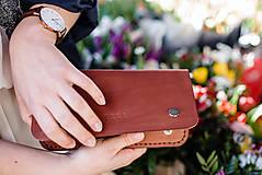 Peňaženky - Eggo peňaženka Smith L svetlo hnedá - 7161455_