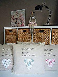 Úžitkový textil - Obliečka na vankúš - 7161348_