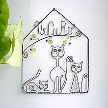 Pre zvieratká - domček pre mačičky - 7163914_