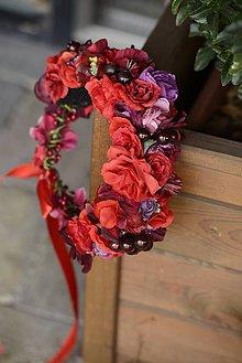 Ozdoby do vlasov - venček by michelle flowers - 7163596_