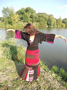 Sukne - lel, flamengo dress/sukňa a svetrik - 7165578_