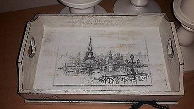 Nádoby - Bienvenue à Paris - tácka - 7163759_