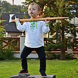 Detské oblečenie - Detská folk košieľka bordó - 7165528_