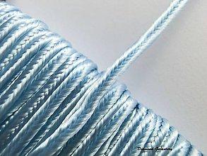 Galantéria - Sutaška 3 mm - belasomodrá - 7165420_