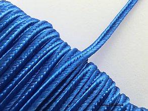 Galantéria - Sutaška 3 mm - kráľovská modrá - 7165424_