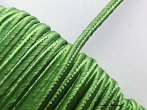 Galantéria - Sutaška 3 mm - olivová - 7165447_