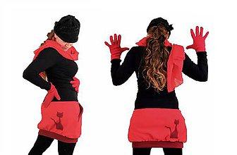 Tehotenské oblečenie - Sukňa (nielen tehotenská) z fleecu do chladného počasia a mrazu - 7165426_