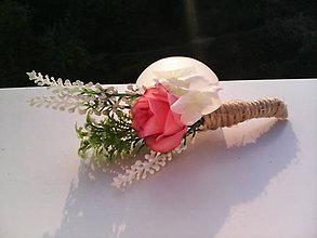 """Pierka - Pierko pre ženícha """"...láska sladká..."""" - 7165345_"""