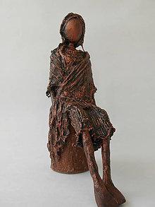 Socha - Dievča z lesa - 7165481_
