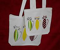 Nákupné tašky - plátené tašky - 7163304_
