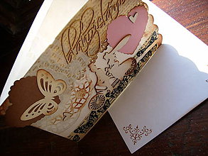 Papiernictvo - Svadobná motýľová - 7163468_