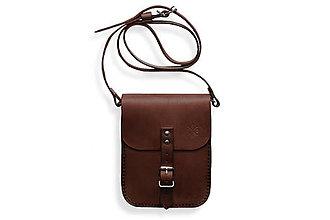 Taštičky - Malá taška Gellner tmavo hnedá - 7164605_