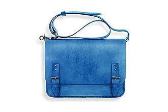 Veľké tašky - Eggo aktovka Benedict modrá - 7165187_
