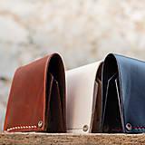 Peňaženky - Peňaženka dolárovka - karamelová - 7166025_