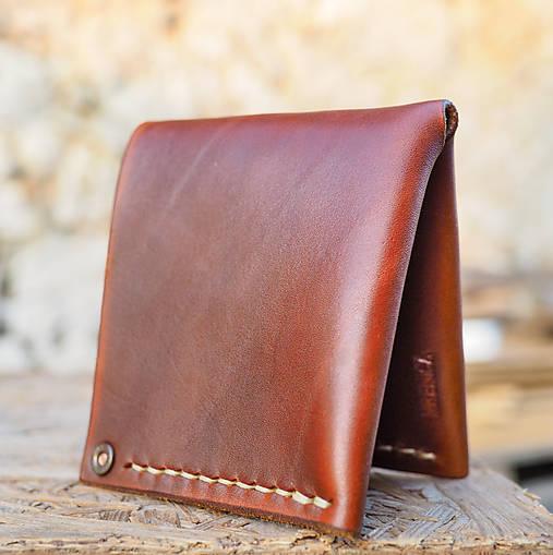 Peňaženka dolárovka - karamelová