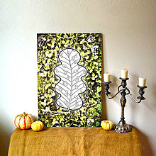 Grafika - Relaxačné omaľovánky/obrazy- list (4 (kvety)) - 7163262_