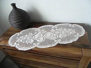 Úžitkový textil - Háčkovaný obrúsok - ovocie z našej záhrady:-) - 7168656_