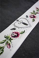 Opasky - maľovaný opasok - plátno - 7169208_