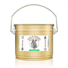 Potraviny - lipovo pohánkový med - čisto prírodný surový med 1,5kg - 7166777_