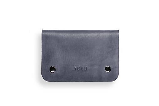 Peňaženky - Eggo peňaženka Smith S šedá - 7167499_