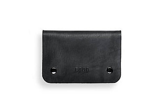 Peňaženky - Eggo peňaženka Smith S čierna - 7167497_